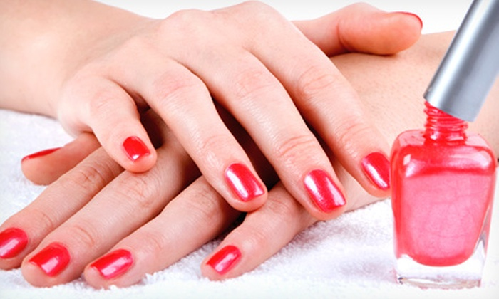 Rush Image Concepts - Rush Image Concepts: One or Three Mani-Pedis at Rush Image Concepts (Up to 67% Off)