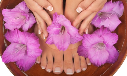 $35 for a Shellac Manicure and Deluxe Pedicure at Zen Garden Nail Spa ($70 Value)