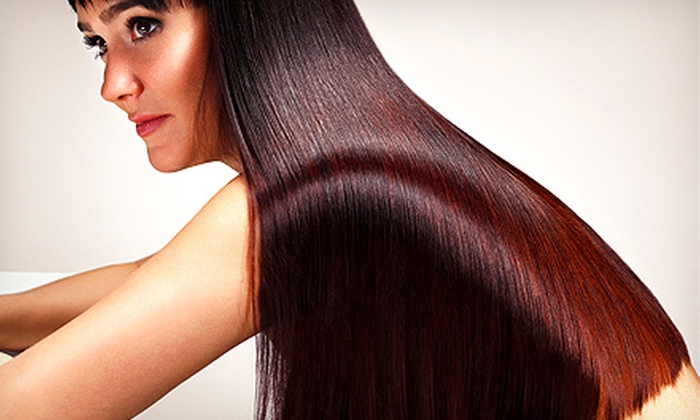 Panache Hair Salon - Massapequa Park: Hairstyling Packages at Panache Hair Salon (Up to 64% Off). Four Options Available.