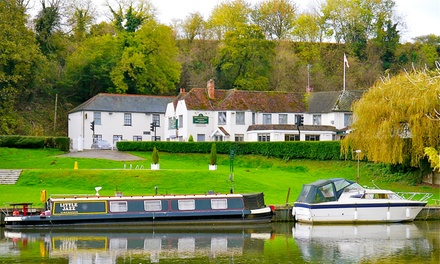 Oxfordshire: Standard Double or Twin Room for Two with Breakfast and TwoCourse Dinner at Shillingford Bridge Hotel
