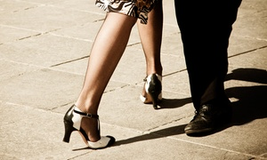 Crystal Ballroom: $49.99 for Four Private Dance Lessons for Two with a Dinner-and-Dance Party at Crystal Ballroom ($250 Value)