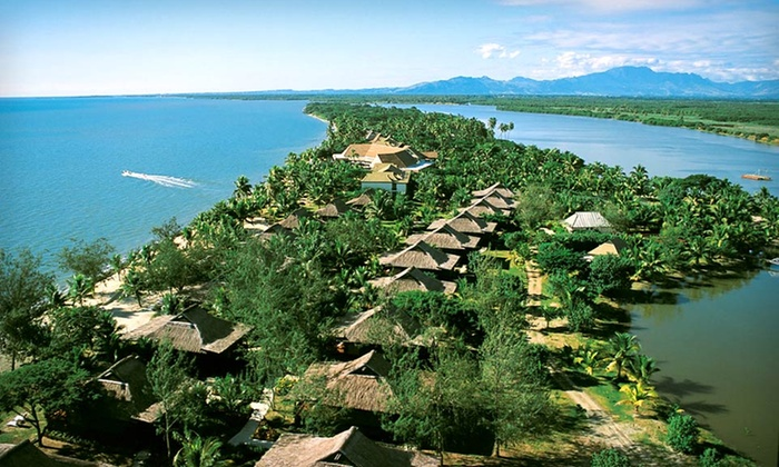 Beach Vacation with Airfare - Down Under Answers LLC: Eight-Day Fiji Beach Vacation with Airfare and Accommodations at Sonaisali Island Resort