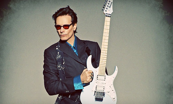 Steve Vai - The Paramount Theatre: Steve Vai Concert at the Moore Theatre on October 4 at 7:30 p.m. (Up to 49% Off). Two Options Available.