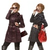 Runway Women's Romantic Ruffle Puffer Coat