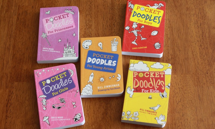 Pocketdoodles Kid's Activity Books: Pocketdoodles Kid's Activity Books. Multiple Options Available. Free Returns.