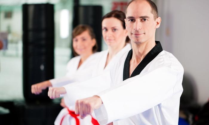 Super Kicks Karate - North Seekonk: $45 for One Month of Unlimited Karate Classes with Uniform at Super Kicks Karate ($95 Value)
