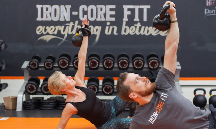Iron Core Fit - Totem Lake: Four-Week Fit Challenge or One Month or 10 Sessions of Group Personal Training at Iron Core Fit (Up to 91% Off)