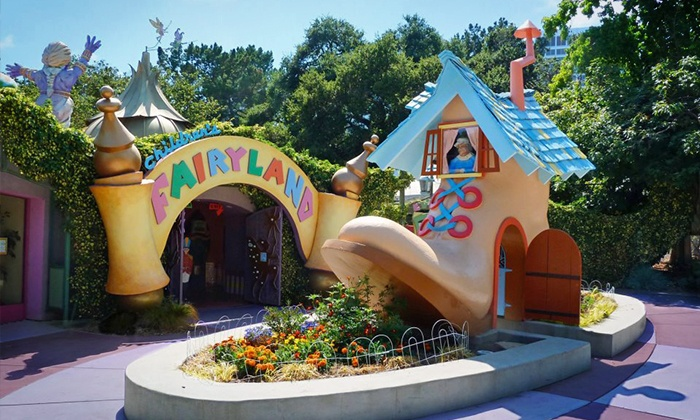 Fairyland - Oakland: One Weekday Pass for Four or a One-Year Family Membership to Children's Fairyland (Up to 51% Off)