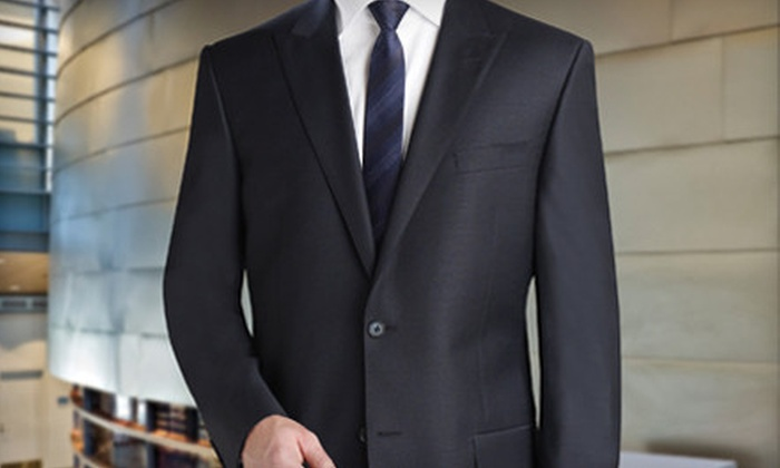 Brother's Tailors & Clothing Co. - Paradise Valley: $648 for a Men's Custom Suit and Shirt with Tie and Cufflinks at Brother's Tailors & Clothing Co. ($1,300 Value)