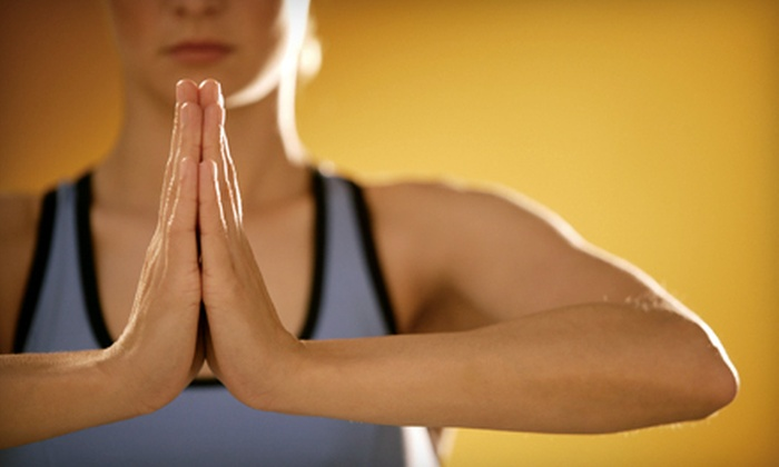 The Dharma Room - Sioux Falls: 4 or 10 Yoga Classes or One Month of Unlimited Yoga Classes at The Dharma Room (Up to 67% Off)