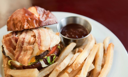 Pub-Food Dinner for Two or Four or More, or Lunch at Elijah Churchill's Public House (Up to 50% Off)