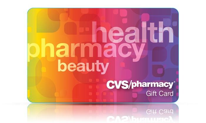 $25 for $25 eGift Card to CVS Pharmacy + $5 back in Groupon Bucks ...