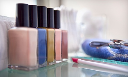 Mani-Pedi or Shellac Manicure and Deluxe Pedicure at Nice Hair and Nails (Up to 57% Off)