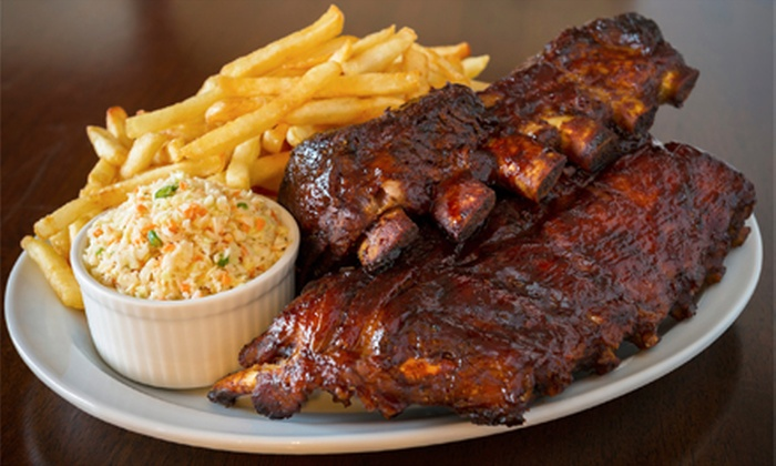The Rib Shack - Succasunna: Homestyle Barbecue Dinner for Two or Four with Entrees, Desserts, and Drinks at The Rib Shack (Up to 55% Off)