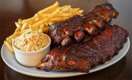 Homestyle Barbecue Dinner for Two or Four with Entrees, Desserts, and Drinks at The Rib Shack (Up to 55% Off)
