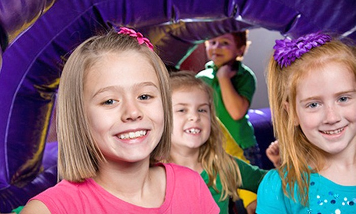Bounce U - Fishers: One Day of Create and Bounce Camp or a Summer Funcation Passport at BounceU (51% Off)