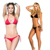 Mapl Triangle Top Bikini Swimsuit with Thong Bottoms