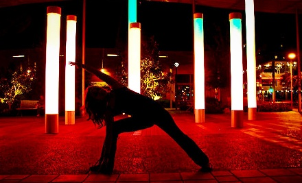 10 Yoga Classes or One Month of Unlimited Yoga at Dark Star Yoga (Up to 71% Off)