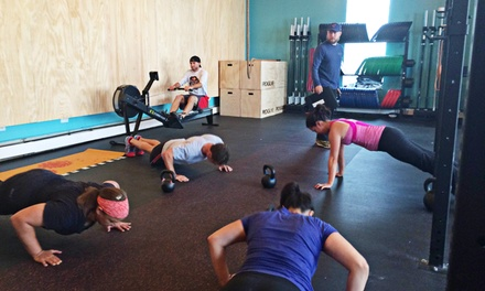 $89 for One Month of Unlimited CrossFit Workouts at Goose Island Crossfit(60% Off)