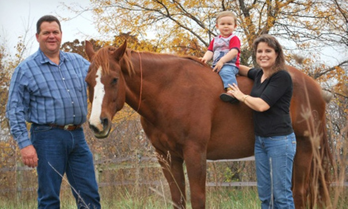 High Point Arena - Kearney: $165 for $300 Worth of Horseback-Riding Lessons at High Point Arena