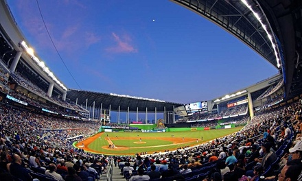 Miami Marlins Opening Night at Marlins Park on March 31st Plus a Future Game. Three Seating Options Available.