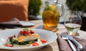 Up to 49% Off Dinner and Wine for Two at Tiburon Tavern at Tiburon Tavern, plus 9.0% Cash Back from Ebates.