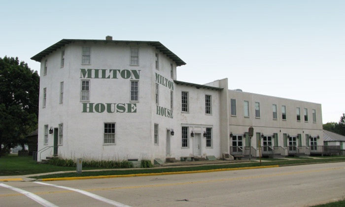 The Milton House - Indian Heights: One-Hour Underground Railroad Station Tour for Four or Six at Milton House Museum (Up to 56% Off)