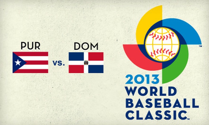 2013 World Baseball Classic - South Beach: 2013 World Baseball Classic Championship Game at AT&T Park on March 19 at 5 p.m. (Up to 51% Off)