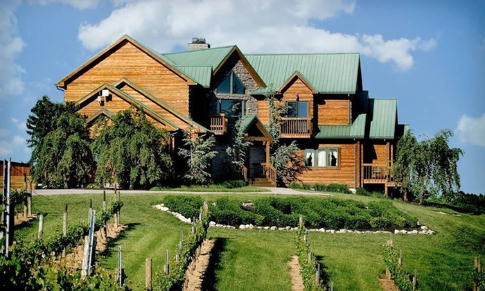 Lodging at Elk Creek Vineyards - Owenton, Kentucky : One- or Two-Night Stay with Cheese-and-Cracker Plate and Tour at Lodging at Elk Creek Vineyards in Owenton, KY