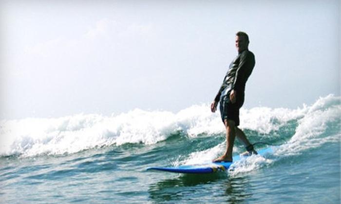 Hawaiian Surf Adventures - Hawaii Kai: Two-Hour Surf Lesson from Hawaiian Surf Adventures (Up to 53% Off). Three Options Available.