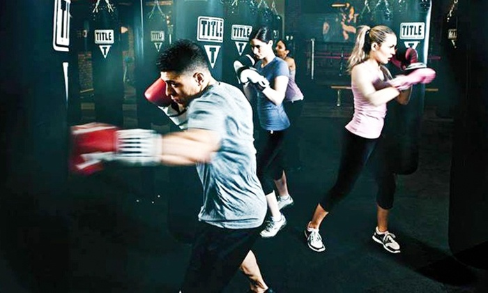 TITLE Boxing Club Sarasota - University Park: Two or Four Weeks of Boxing and Kickboxing Classes at TITLE Boxing Club of Sarasota (Up to 61% Off)
