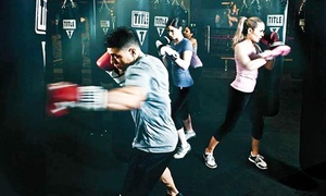 TITLE Boxing Club Sarasota: Two or Four Weeks of Boxing and Kickboxing Classes at TITLE Boxing Club of Sarasota (Up to 61% Off)