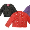Dollhouse Girls' Faux-Leather Jackets