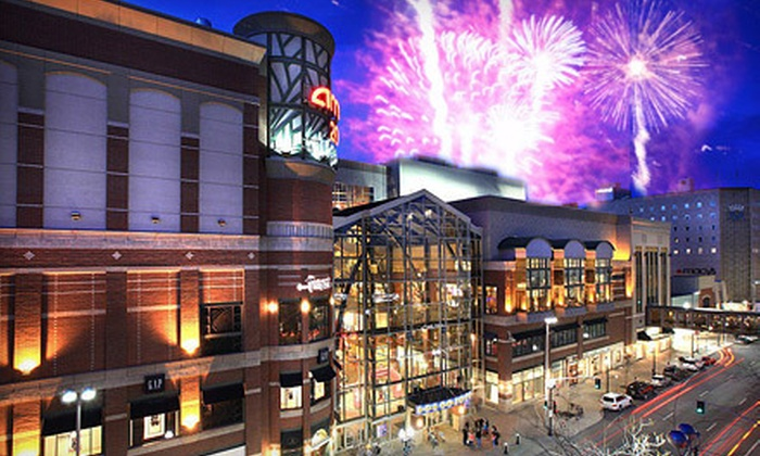 River Park Square - Riverside: $15 for Admission for Two to the 4th of July Rooftop Party at River Park Square with Two Hot Dogs and Two Sodas ($30 Value)