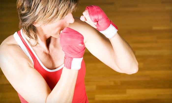 Cardio-Go - Toronto - Multiple Locations: 5 or 10 Kick-Boxing Classes at Cardio-Go (Up to 91% Off)