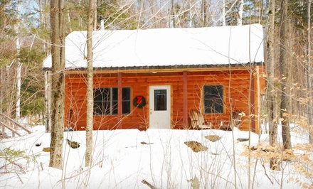 Option 1: Deluxe one-bedroom cabin for two, valid for check-in Sunday-Wednesday; not valid for Friday or Saturday stays - Sterling Ridge Resort in Cambridge