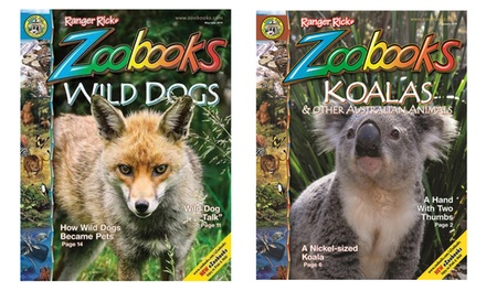 Zoobooks Magazine Subscription for One or Two Years (Up to 74% Off)