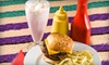 Burger Fresh - Multiple Locations: Burger Baskets with Fries and Fried Pickles for Two or Four at Burger Fresh (55% Off)