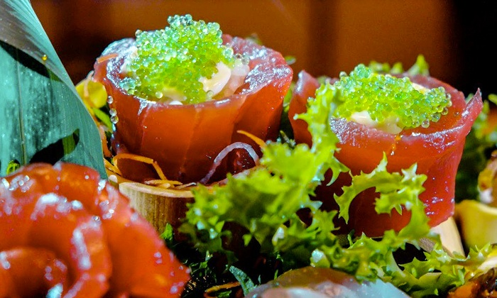Japanese food and drinks mika japanese cuicine and bar groupon - Mika japanese cuisine bar ...