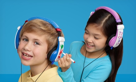 iHip Erasable Doodle Headphones in Blue, Pink, Purple, or Red. Free Returns.