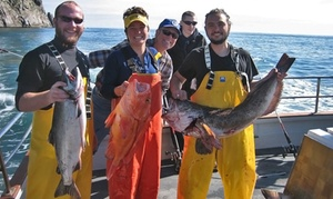 Seward Fishing Club: $169 for a Six-Hour Charter Salmon-Fishing Trip for One from Seward Fishing Club ($239 Value)