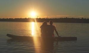 Team Watersport: Sunset Tour Stand-Up-Paddling für ein oder zwei Personen (bis zu 50% sparen*)
