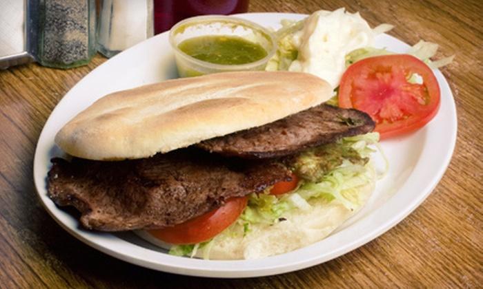 El Vaquero Restaurant - Multiple Locations: $12 for $25 Worth of Mexican Cuisine at El Vaquero Restaurant