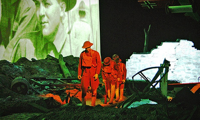 National World War I Museum at Liberty Memorial - National World War I Museum and Memorial: National World War I Museum at Liberty Memorial Visit for Two or a Family of Four (Up to Half Off)