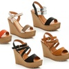 Lady Godiva Women's Wedge Sandals