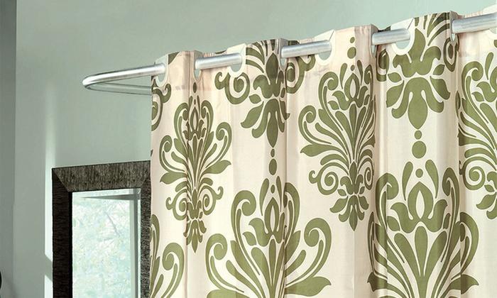 Beacon Hill Ivory Sage EZ ON No Hooks Needed Fabric