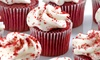 Red Velvet Kupkakes - Parkville: One or Two Dozen Gourmet Cupcakes at Red Velvet Cupcakes (47% Off)