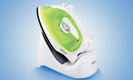 Milex Cordless Rechargable Travel Steam Iron