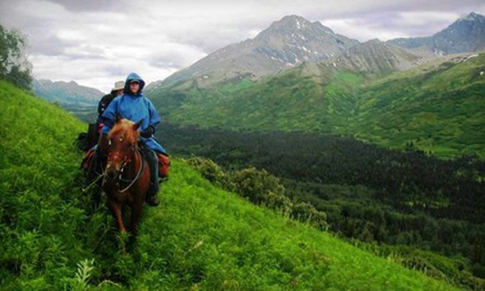 Horse Trekkin Alaska - Mid-Hillside: 90-Minute Trail Ride for Two or Four-Hour Trail Adventure for Two with Lunch from Horse Trekkin Alaska (Up to 53% Off)