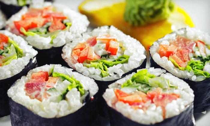 Naru Asian Cuisine - Manassas Park: $20 for $40 Worth of Sushi and Asian Cuisine and Sushi at Naru Asian Cuisine